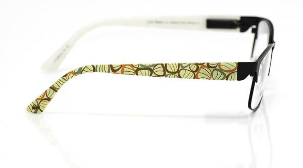 eye:max Wechselbügel 5850.02 Kunststoff Einzeller 60er grün orange 135mm