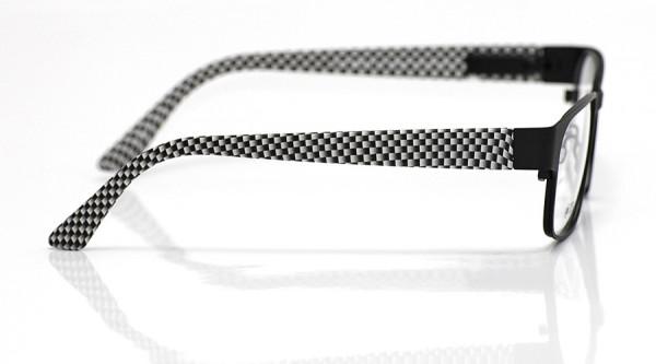 eye:max Wechselbügel 5553.01 Kunststoff hellgrau water printing 135mm
