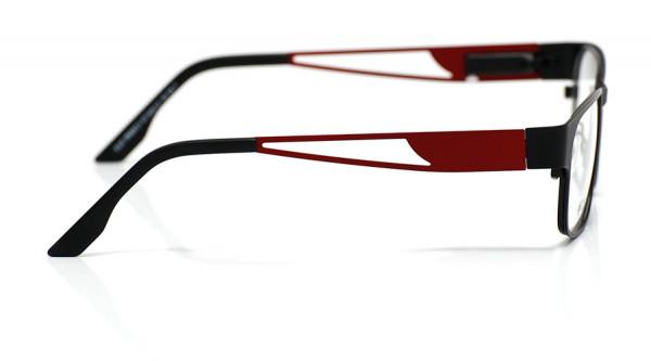 eye:max Wechselbügel 5435.12 Edelstahl hibiscus semi matt, rot 135mm