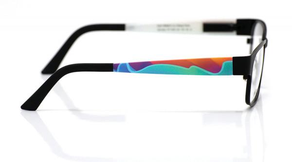 eye:max Wechselbügel 5461.04 Kunststoff Wellen blau, lila 135mm