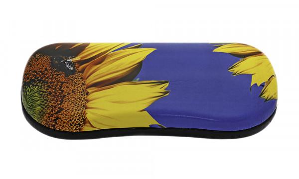 Klappetui mit Motiv - Sonnenblume