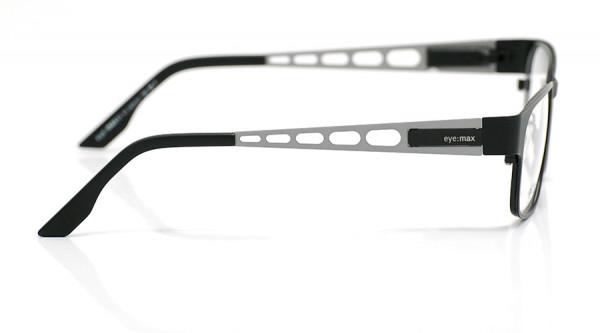 eye:max Wechselbügel 5435.31 Edelstahl oxydized silver matt, silber, grau 135mm