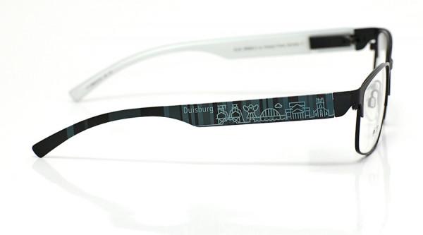 eye:max Wechselbügel 5896.0154 Kunststoff Duisburg schwarz 138mm