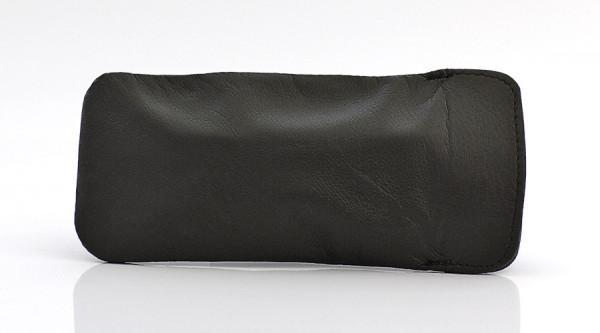 weiches Lederstecketui - Nappaleder - braun - groß