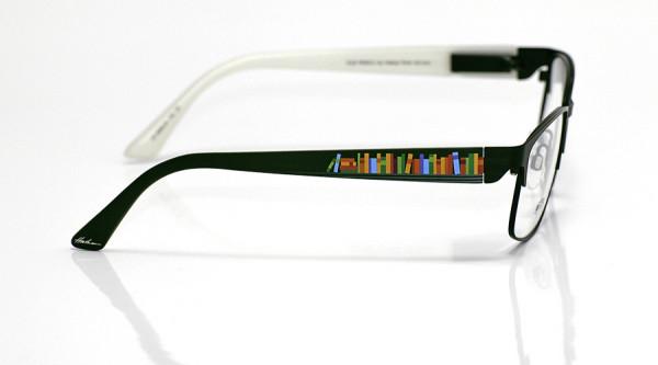 eye:max Wechselbügel 5669.04 Kunststoff Buch grün 135mm