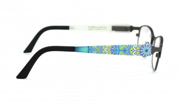 eye:max Wechselbügel 5573.061 Kunststoff Mandala blau135mm