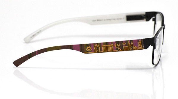 eye:max Wechselbügel 5832.07 Kunststoff braun lila 138mm