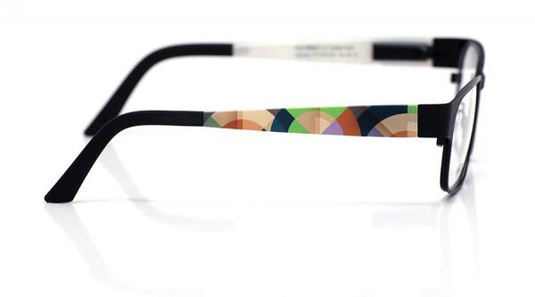 eye:max Wechselbügel 5470.02 Kunststoff geometrisches Halbkreismuster 135mm