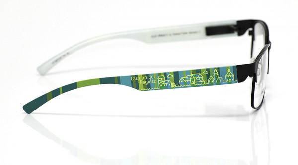 eye:max Wechselbügel 5873.05 Kunststoff Lauf mint petrol 138mm