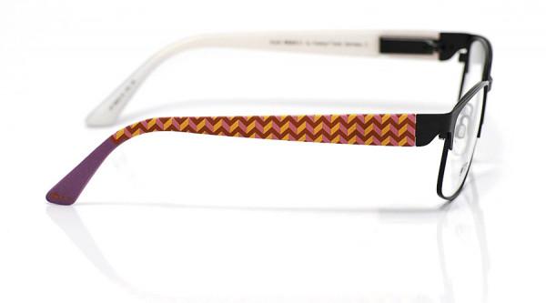 eye:max Wechselbügel 5822.10 Kunststoff zickzack lila orange 135mm