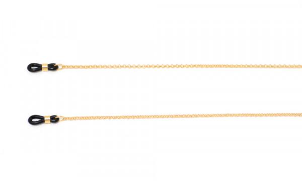 Brillenkette aus Metall - goldfarben