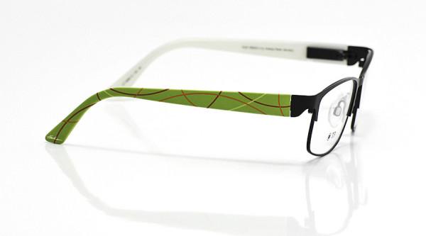 eye:max Wechselbügel 5668.12 Kunststoff Bogenlinie grün 135mm