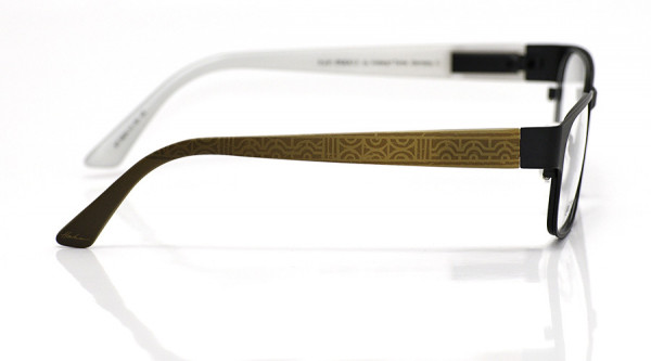 eye:max Wechselbügel 5824.13 Kunststoff Ethno geometrisch gold 135mm