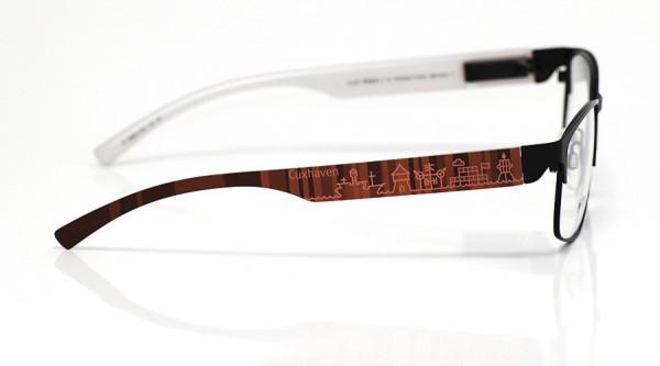 eye:max Wechselbügel 5896.0128 Kunststoff Cuxhaven rot 138mm