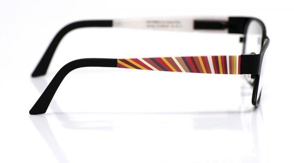 eye:max Wechselbügel 5564.061 Kunststoff bunte Streifen 135mm