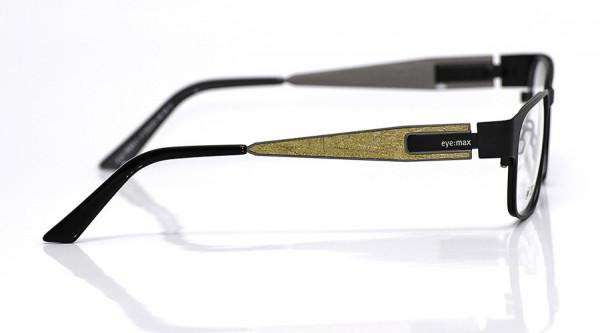eye:max Wechselbügel 5533.03 Edelstahl gold Struktur 140mm
