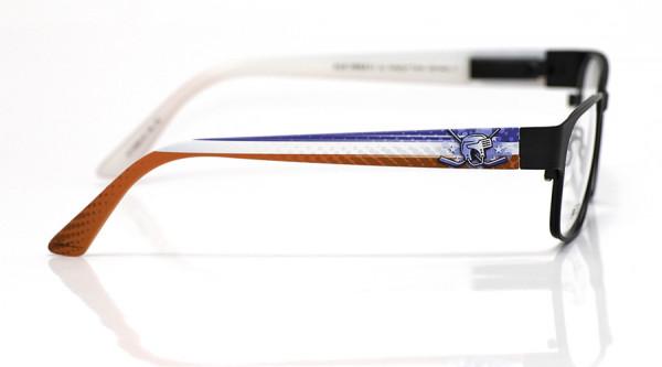 eye:max Wechselbügel 5558.18 Kunststoff Eishockey Helm blau weiß rot 135mm