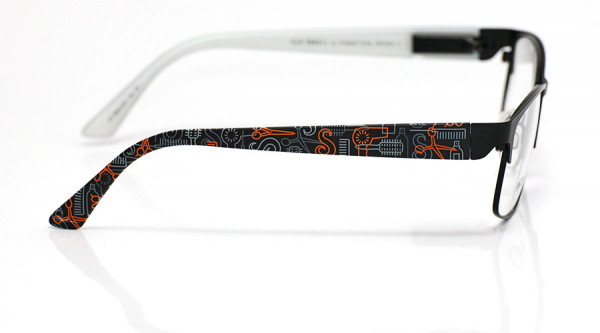 eye:max Wechselbügel 5882.003 Kunststoff Frisör schwarz 135mm