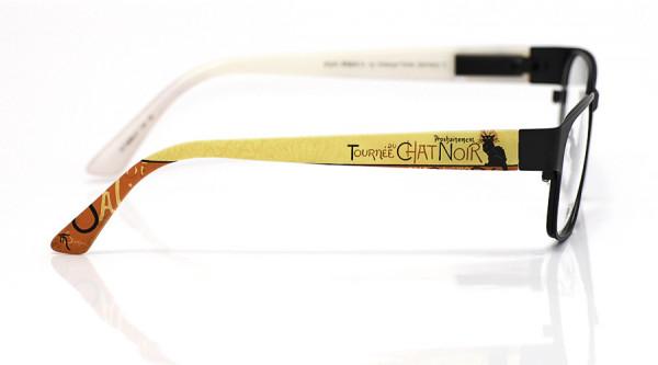 eye:max Wechselbügel 5898.01 Kunststoff Chat noir gelb rot 135mm