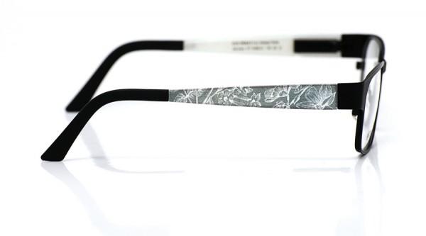 eye:max Wechselbügel 5468.01 Blumen Holzstichoptik 135mm