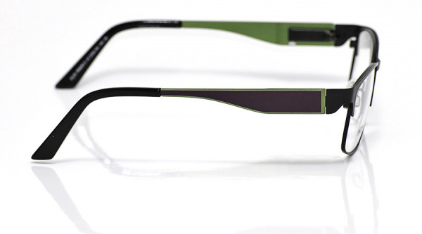 eye:max Wechselbügel 5700.154 Edelstahl lila grün Aluminium 140mm