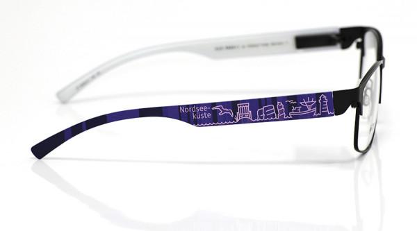 eye:max Wechselbügel 5839.01 Kunststoff Nordseeküste lila 138mm