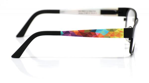 eye:max Wechselbügel 5697.121 Kunststoff wilde Dreiecke bunt 135mm