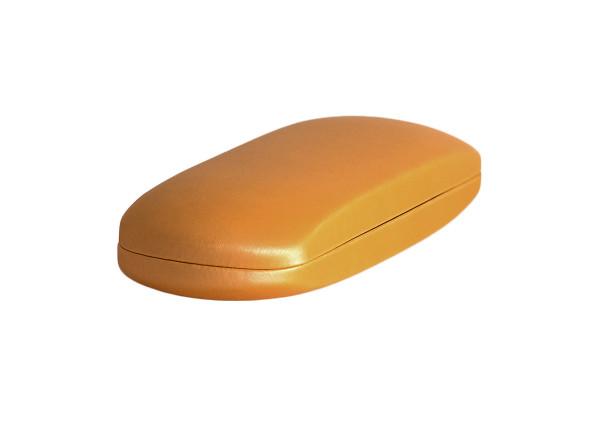 einfaches Klappetui - orange