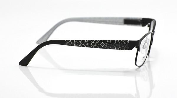 eye:max Wechselbügel 5630.01 Kunststoff Schlangenmuster schwarz 135mm