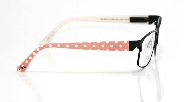 eye:max Wechselbügel 5652.17 Kunststoff Joana rosa/weiße Punkte 135mm
