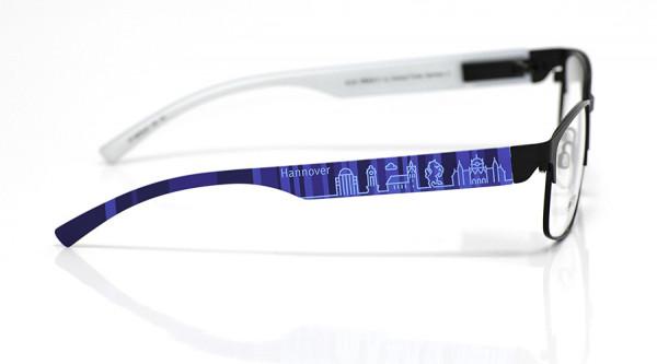 eye:max Wechselbügel 5878.02 Kunststoff Hannover blau 138mm