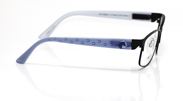 eye:max Wechselbügel 5691.01 Kunststoff hellblau Pferd 135mm