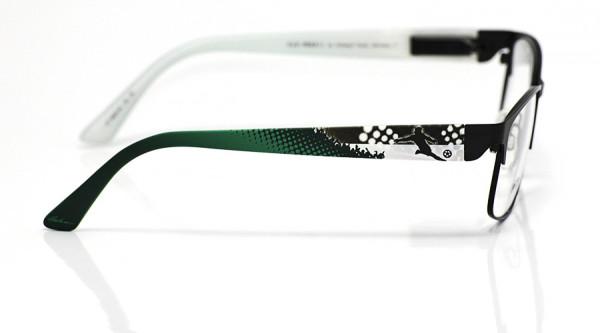 eye:max Wechselbügel 5829.06 Kunststoff Fußball schwarz weiß grün 135mm