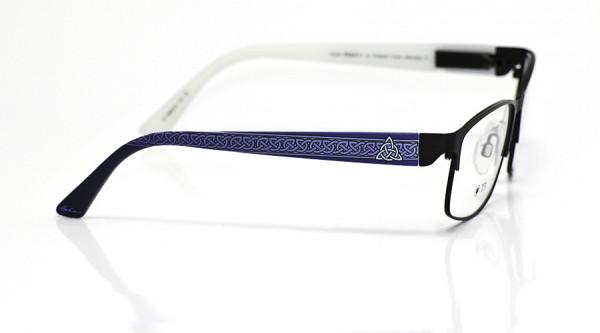 eye:max Wechselbügel 5698.05 Kunststoff keltischer Knoten blau 135mm