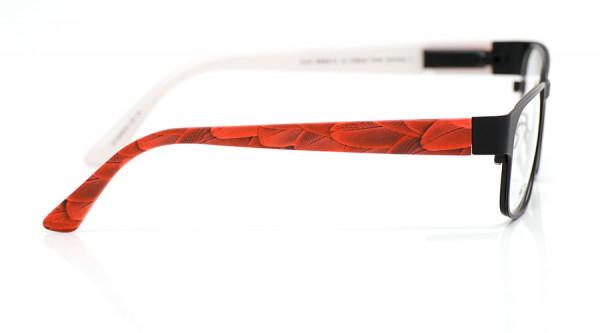 eye:max Wechselbügel 5438.03 Kunststoff Federn rot 135mm