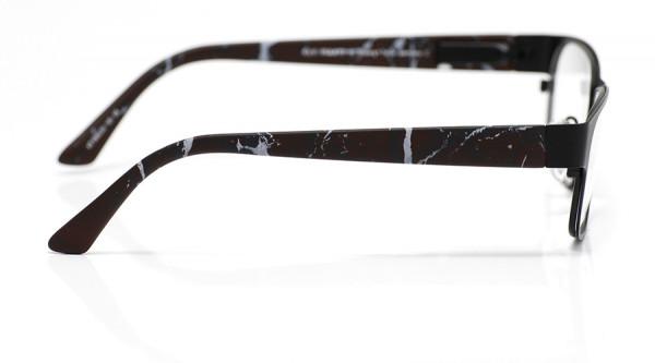 eye:max Wechselbügel 5593.03 Kunststoff marmoriert rot/grau 135mm