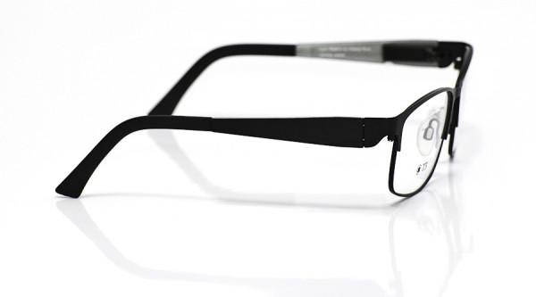 eye:max Wechselbügel 5800.01 Kunststoff schwarz matt 125mm