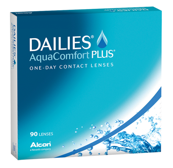 Dailies Aqua Comfort + 90er Paket