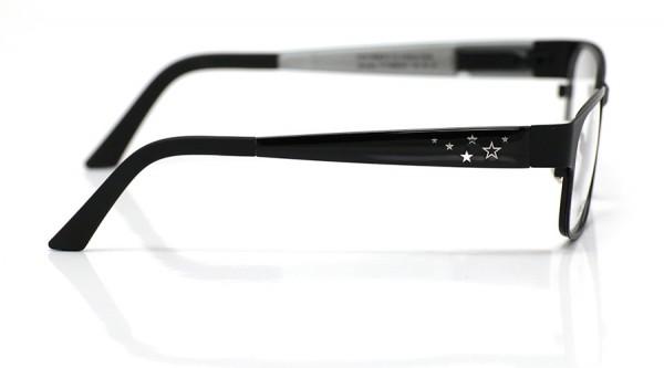 eye:max Wechselbügel 5568.021 Kunststoff schwarz glzd. Sterne 135mm