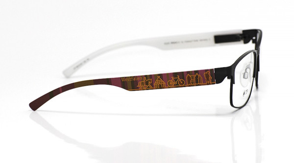 eye:max Wechselbügel 5815.02 Kunststoff Westfalen braun lila 138mm