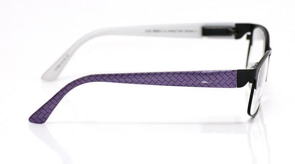 eye:max Wechselbügel 5627.19 Kunststoff lila Zopfmuster 135mm