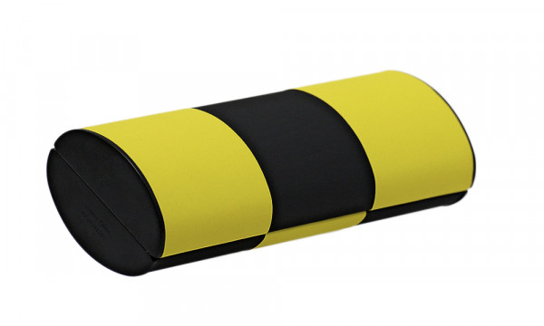 Zauberetui, Wendeetui - Größe S - rot/schwarz zu gelb/schwarz
