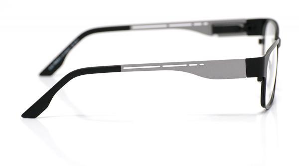 eye:max Wechselbügel 5435.01 Edelstahl oxydized silver matt 135mm