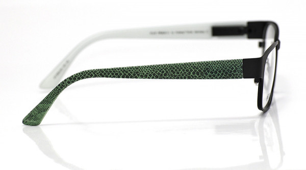 eye:max Wechselbügel 5552.05 Kunststoff Echsenhaut grün 135mm