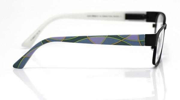 eye:max Wechselbügel 5668.07 Kunststoff Bogenfarbflächen grün lila 135mm