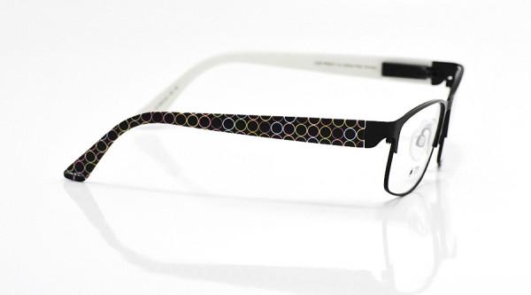 eye:max Wechselbügel 5672.02 Kunststoff Kreis Linien schwarz 135mm