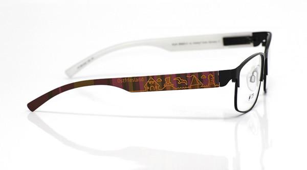 eye:max Wechselbügel 5813.02 Kunststoff Ostfriesland braun lila 138mm