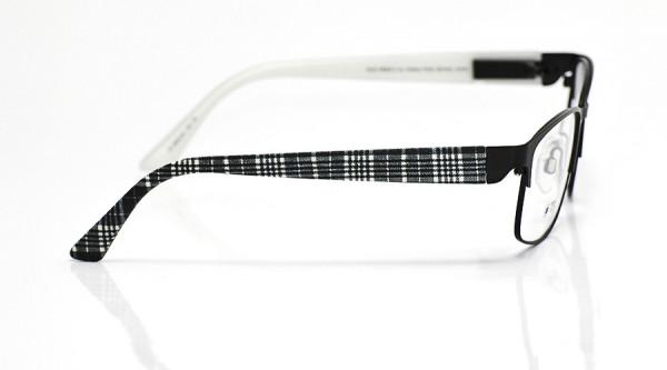 eye:max Wechselbügel 5653.04 Kunststoff schwarz grau karo 135mm