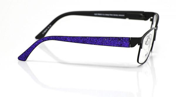 eye:max Wechselbügel 5662.05 Kunststoff Glitter/Glitzer lila 135mm