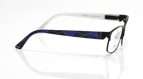 eye:max Wechselbügel 5668.02 Kunststoff Bogen Farbflächen blau 135mm